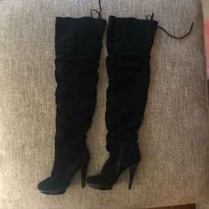 Steve Madden Thigh High stiletto heel boot
